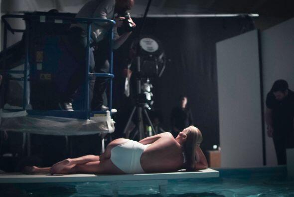 Las imágenes que le hicieron a la modelo simplemente son hermosas y muy...