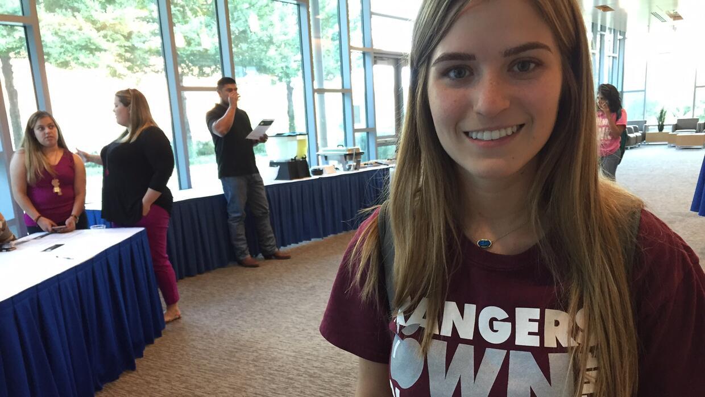 Marcela Torres, una estudiante de 20 años de edad, quiere ser asistente...
