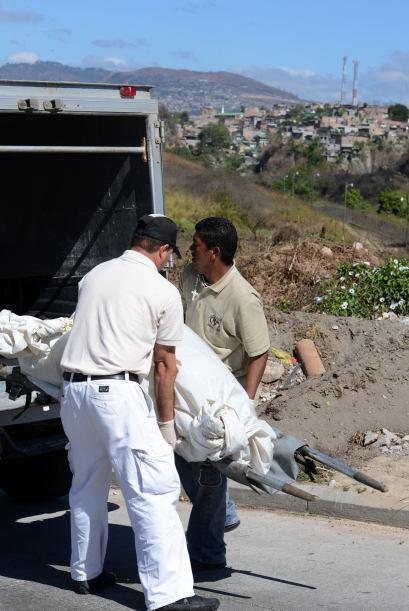 """Sin embargo, en 2012 la tasa de homicidios en Honduras """"no sólo se reduj..."""