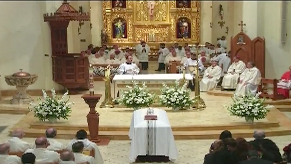 Archbishop Patrick Flores Funeral at San Fernando Catherdral