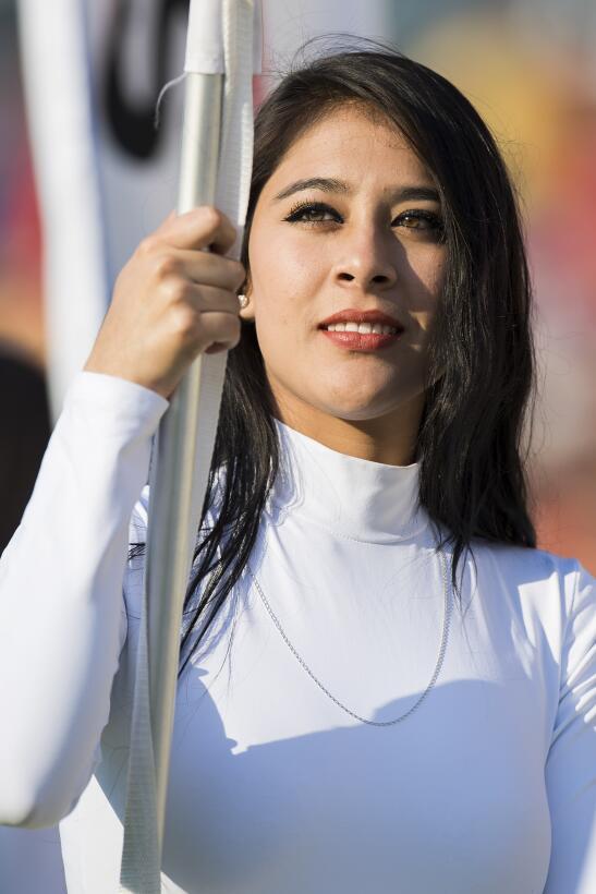 Fiesta y belleza en la semifinal de la Copa MX entre Morelia y Cruz Azul...