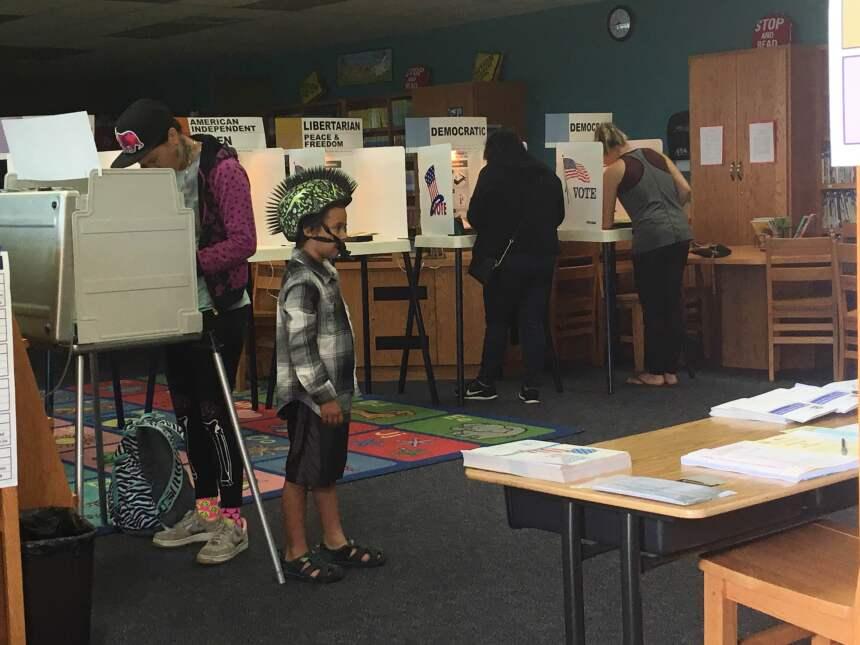 Centro electoral Wescove en West Covina. 7 de junio de 2016.