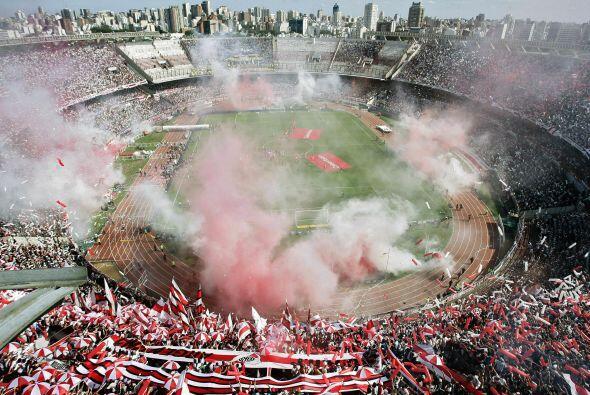 El estadio Monumental, casa de River Plate, será el lugar donde se jugar...
