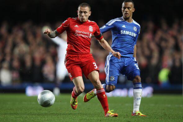 Pero Liverpool manejaba el balón mucho mejor que su rival.