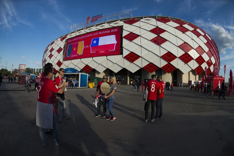 El ballet de Chile llegó a Moscú: 2-0 a Camerún 20170618_2352.jpg