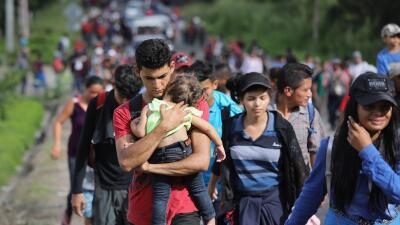 Trump amenaza con cerrar la frontera si México no actúa ante la caravana de migrantes