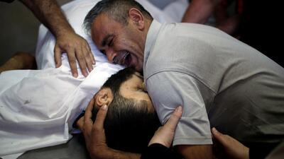 En fotos: Decenas de muertos en las protestas de Gaza por el traslado de la embajada de EEUU