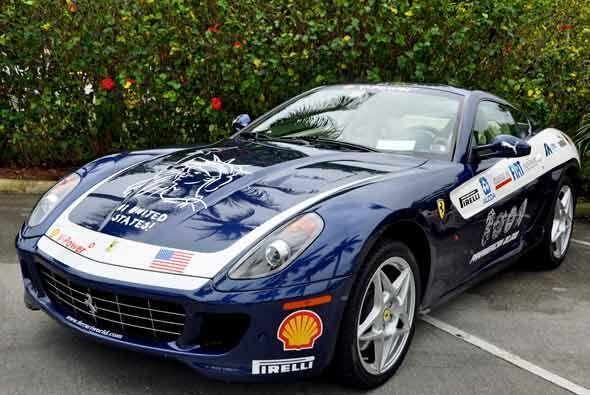 En el 2009, Ferrari hizo un Rally de 20 mil millas por toda América con...