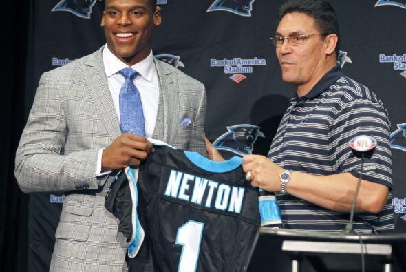 11. Cam Newton (2011).- Carolina Panthers.