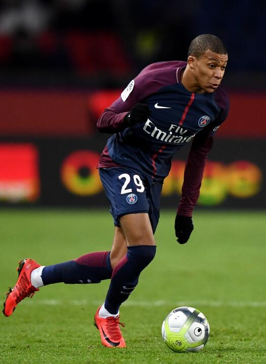 7. Kylian Mbappé (PSG / Francia)
