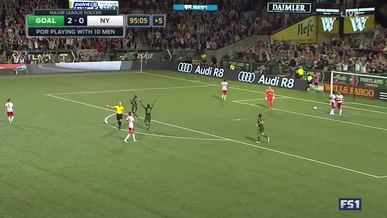 Darren Mattocks sentencia la victoria 2-0 de Portland con un contraataqu...