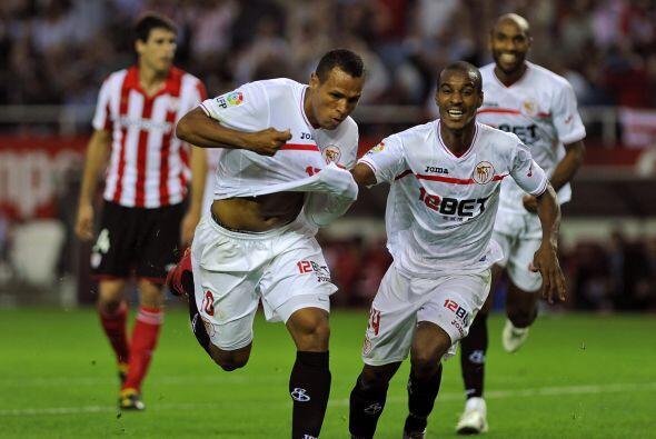 El brasileño Luis Fabiano marcó el primer gol del juego.