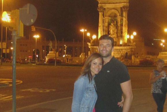 Pero fue en Barcelona, donde un año atrás, Aaron sorprendi...