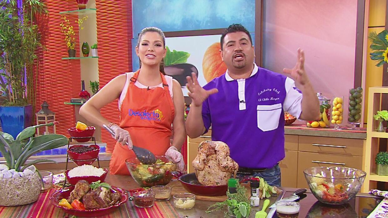 Ana patricia aprendi lo sencillo que es preparar un pollo for Cocinar un pollo entero
