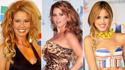 Rescatamos las fotos que no recordabas de Myrka Dellanos, Alicia Machado, Eiza González y otras famosas