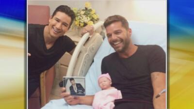 ¡Ricky Martin dio a luz! Mira qué peculiar manera de hacerlo
