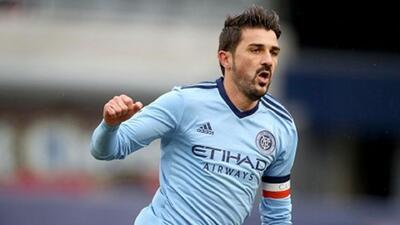 ¡Vaya goleador! David Villa superó la marca de los 400 goles en su carrera