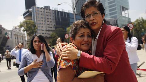 A dos horas de un simulacro de sismo, los habitantes de Ciudad de México...