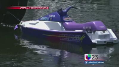 Grave niño de cuatro años tras accidente en motora acuática