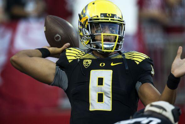 Selección 2 Tennessee Titans: QB Marcus Mariota, Oregon (AP-NFL).