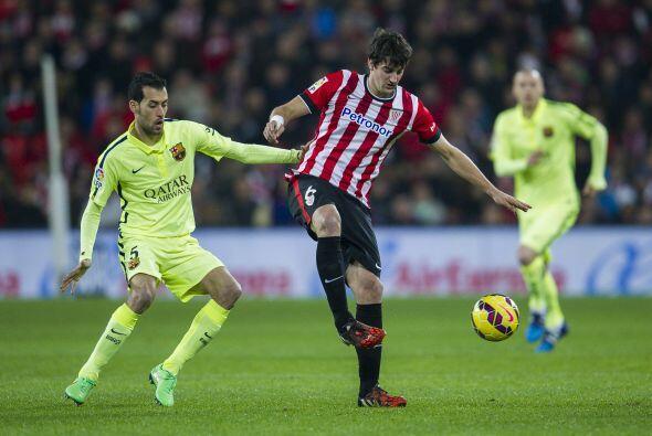 El Bilbao se acercó en el marcador gracias a un gol de Mikel Rico.