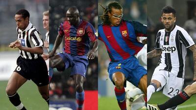 Corazón partío entre el Barça y la Juve: los cracks que jugaron para los dos