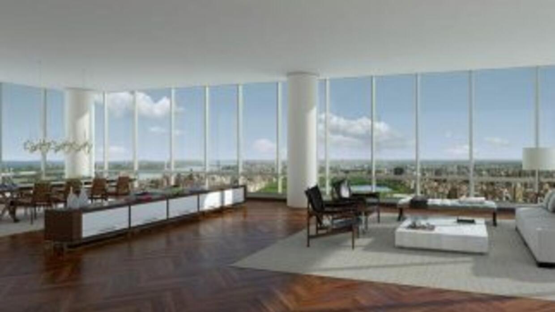 Apartamento más caro de NY. Imagen tomada de:One57.com