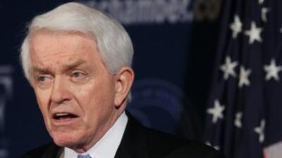 El presidente de la Cámara de Comercio de Estados Unidos,Thomas J. Dono...