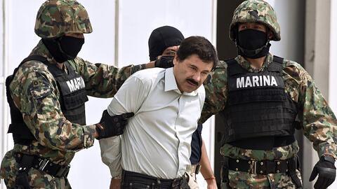 """Joaquín """"El Chapo"""" Guzmán fue trasladado el pasa..."""