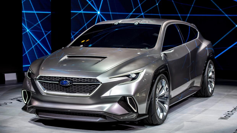 El Subaru VIZIV Tourer Concept que debutó este martes en el Motor Show d...