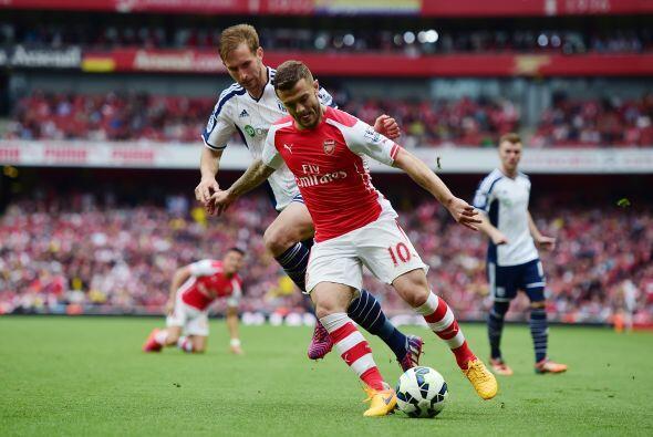 Arsenal aguantó los embates finales de los blanquiazules que no lograron...
