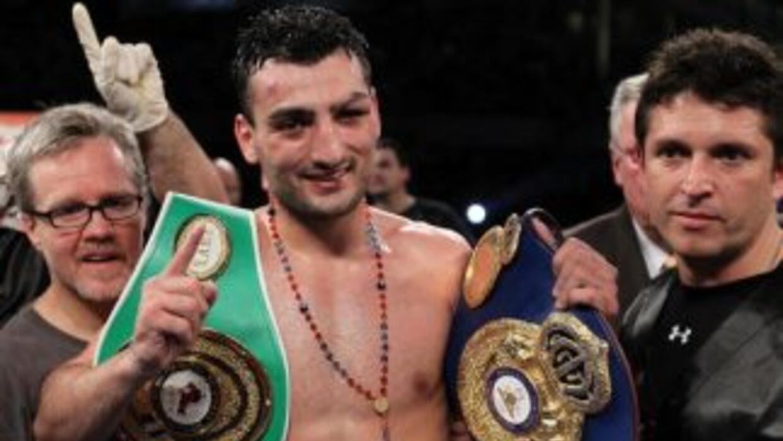 Martirosyan moletó con el CMB, no peleará para el organismo.