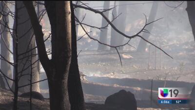 El incendio Meyers obliga a la evacuación de decenas de familias en el condado Dorado
