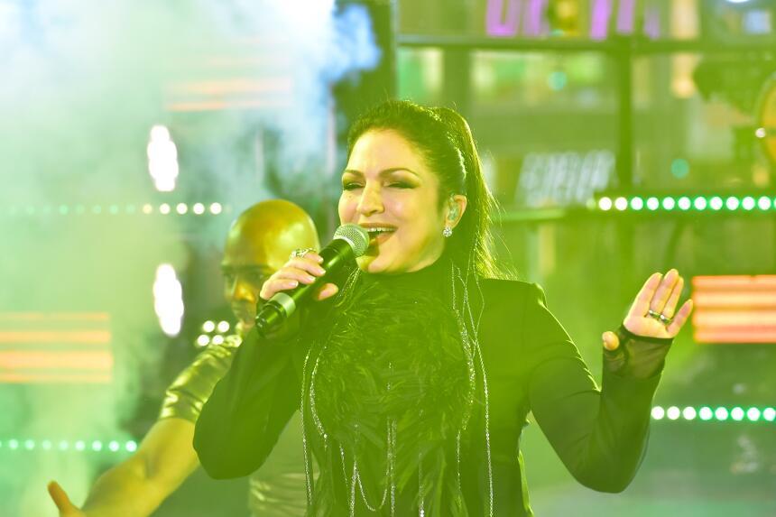 Gloria María Milagrosa Fajardo García, una cantante, compositora y actri...