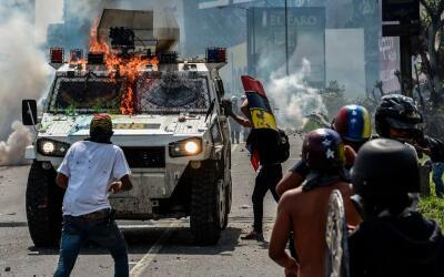 Las protestas en Venezuela superan ya los 40 días de duraci&oacut...