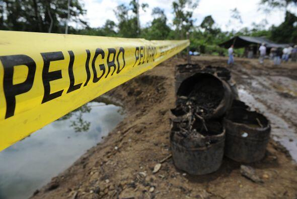 La empresa petrolera de EU, Chevron fue condenada a pagar $9,500 millone...