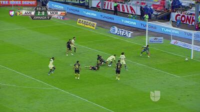 Ibarra raspó el poste y se ahogó el grito de gol