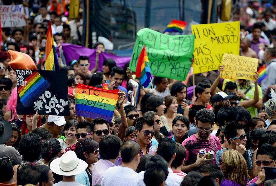 La marcha también sirvió para concienciar en contra de la violencia cont...