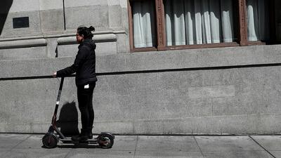 Compañías de scooters o carriolas eléctricas se retiran temporalmente de Miami