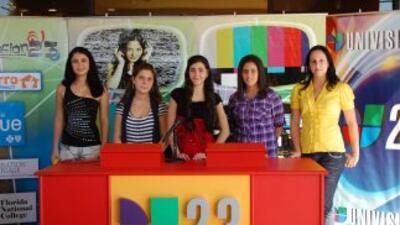 Las cinco finalistas del 16 de octubre: Raiza Reyes, Marian Martinez, Ch...