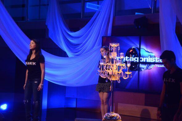 Andrea, Shanik y Laura fueron las voces principales.