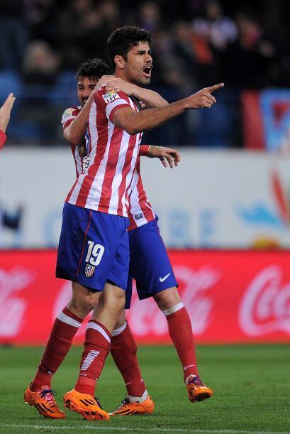 Un cabezazo de Diego Costa valió la victoria, además de lo...