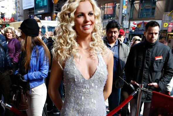 Con la de Britney pasó todo lo contrario, no le vemos mucho parecido con...