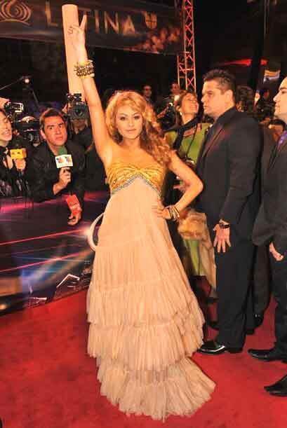 Pero ella es Pau, viene en pose de ganadora y nosotros le creemos.