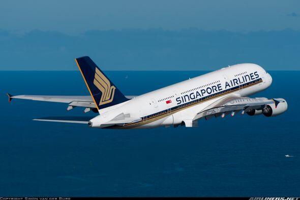 La seccion de primera clase en Singapore Airlines es de las mas lujosas...