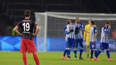 Eintracht Frankfurt se encuentra en peligro de descender.