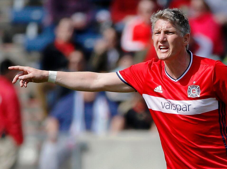 Mediocampista: el alemán Bastian Schweinsteiger sigue sin equipo...