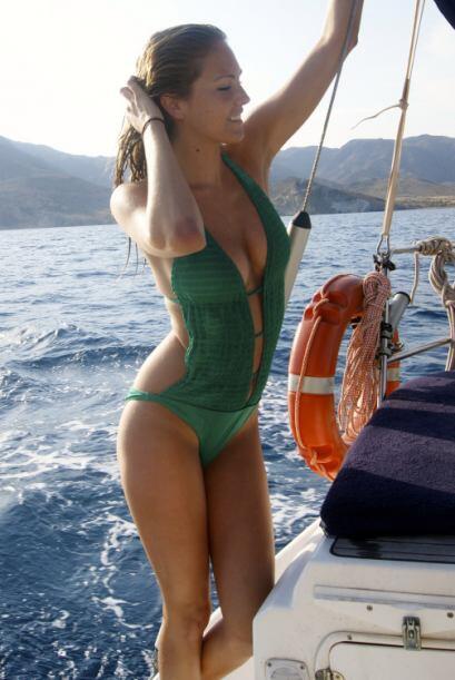 La modelo española María Imízcoz, ex novia de Javi Martínez, se convirti...