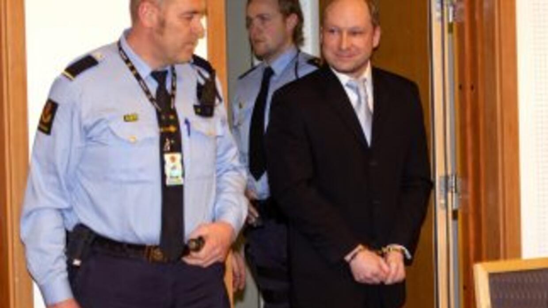 Anders Behring Breivik no ha mostrado arrepentimiento alguno por los ate...