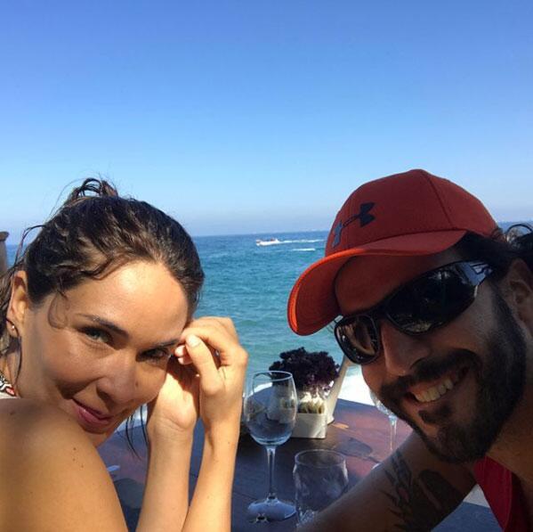 Guto Salas y Adriana Louvier boda